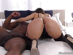 After three years in Porn Valley, it`s going to take a little more than an average, white wiener to satisfy this young lady. And the word is quickly spreading: there`s a new BBC in town, and he goes by the name Davin King. Mr. King is a true Bull in every