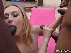 Let`s face it, we all have taboo fantasies, and the beautiful blonde, Alexa Grace, is no different. She`s been masturbating to the same scenario, over and over: she`s by the pool, sunning herself. She`s in a bikini, and with her eyes closed, she suddenly